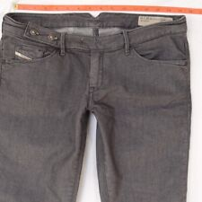 8216e745 Womens Diesel CHERICK OR7A3 Stretch Slim Tapered Grey Jeans W30 L30 UK Size  10