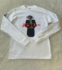 Rihanna 2016 ANTI World Tour White Shirt Size Small