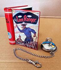 LONE RANGER POCKET WATCH in Original Tin Case w/Comic Book Cover.