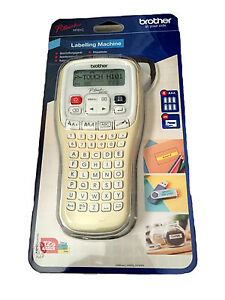 Brother P-Touch H101C Handheld Labelling Machine with Batteries and 4M Tape
