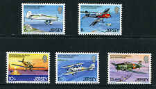 JERSEY Gomma integra, non linguellato UMM Stamp Set 1979 SG 208-212 International Air Ralley 25TH ANNIV
