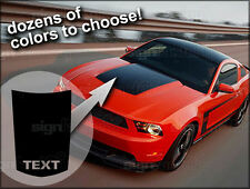 2010 2011 2012 2013 Ford Mustang Hood Buldge Stripe Decal GT Style #1
