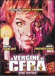 Dvd «THE TERROR ♦ LA VERGINE DI CERA» con Jack Nicholson Boris Karloff nuovo1963