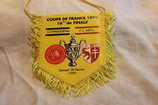 FANION FOOTBALL   COUPE DE FRANCE 1999 16 EM DE FINALE