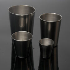 Stainless Steel Drinking Mug Cup Coffee Tea Water Beer Cup Stackable Durable