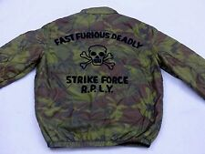 * REPLAY BLUE JEANS Bomber Giacca Estate * camouflage * Fast Furious ** TAGLIA M * Tip Top