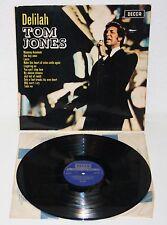TOM JONES Delilah 1968 Original UK LP Decca SKL 4946 Stereo Vinyl