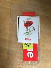 Supreme Ss18 Molotov Necklace Bogo Sticker & poppy seed pack - sealed Authentic