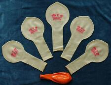 """5x 44"""" Riesenballons CTX-32, FATNECK-Set, LW-CLEAR, Sammler-Looner-Party"""