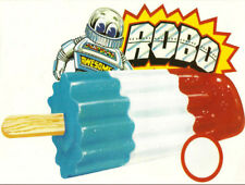 Robo Robot Popsicle Ice Cream Truck High Quality Metal Magnet 3x4 inches 9977