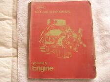Ford 1974 Car Shop Manual Volume 2 Engine 1st Printing