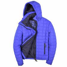 Superdry Herren Jacke Jacket Winterjacke Gr.M (wie S) Fuji Blau 88445
