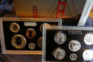 2018-S San Francisco Mint Silver Reverse Proof Set (18XC) OGP & COA NR!