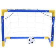 Mini Portable Football Soccer Goal Post Net Set Kids Indoor Outdoor Sports Toy