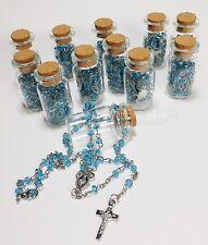 Baptism Rosary Favors Keepsake Christening Bautizo Recuerdos Rosario Comunion