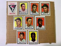 1962 Topps Stamps Chicago White Sox 9 Different Stamps