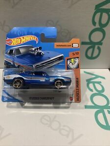 Hot Wheels New 2020 70 Dodge Charger R/t Short Card VHTF 5/10 Muscle Mania !!!!