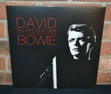 DAVID BOWIE – Isolar II Tour 1978, Ltd Import 2LP BLACK VINYL Gatefold New!
