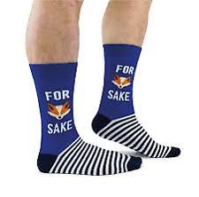 Cockney Spaniel For Fox Sake Mens Novelty Socks - Mens UK 6-11 Socks