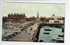 (Lc1287-402)  LOWESTOFT - Sands from Pier, Unused c1920 VG+