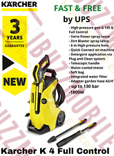 Kärcher K4 Full Control Pressure Washer Car Bike Patio Garden Home FAST DELIVERY