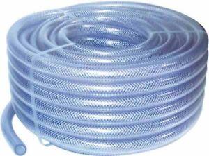 PVC Transparent Tressé Tuyau - Alimentaire - Huile / Gaz / Eau - Renforcée Tube