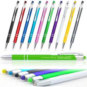 Metallkugelschreiber Touch Pen individueller Laser Gravur Werbung  1-1000 Stück