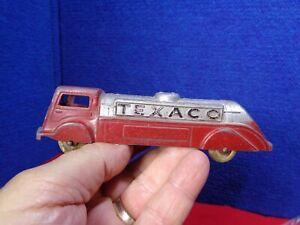 Vintage Metal Toy TEXACO TANKER