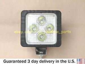 JCB BACKHOE - REAR WORKING LIGHT, 4x4 LED, 12V (PART NO. 700/38800)