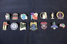Lot of 14 Atlanta 1996 Olympics Themed Hat Pins w/ Backs Centennial Olympiad!