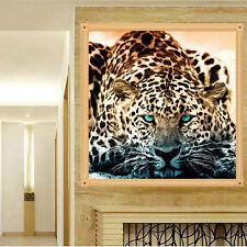 5D Diamond Painting Leopard Quiet Animal Diamond Cross Stitch DIY Home Decor