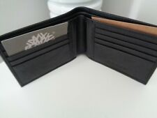 BNWT Timberland Black Leather Bi Fold Wallet