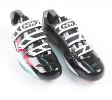 Northwave Extreme White/Black/Red Road Cycling Shoe Size 40 SPD SL Look Biking