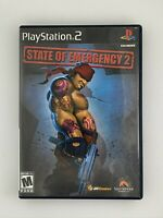 State of Emergency 2 - Playstation 2 PS2 Game - Tested