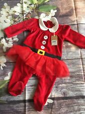 Next Baby Girls Christmas Outfit Tutu 3-6 Months BNWT