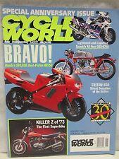 Cycle World Magazine January 1992 Honda Oval Piston NR750 Triton 650 Kawasaki Z