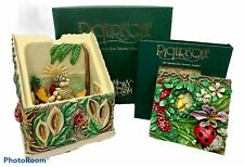 Harmony Kingdom Lord Bryon's Secret Garden Hideaway Box with Tile Picturesque
