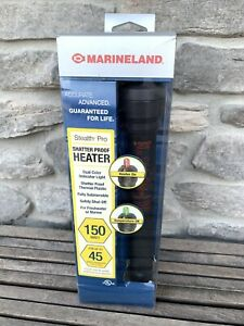 Marineland Stealth Pro Shatter Proof Heater 150W Up to 45 Gallon Aquariums New