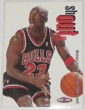 1998/99 Michael Jordan Chicago Bulls NBA Hoops Shout Outs Insert Card #13SO NM