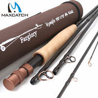 "Maxcatch #3 #4 #5 Nymph Fly Fishing Rod 9'-10'6""/ 9'6''-11'0'' Extension Section"