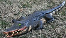 Halloween Play Alligator Prop 4' Long Vinyl Pirate Party Swamp Theater Accessory