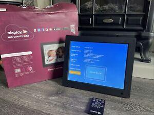 Nixplay Original 12 Inch WiFi Cloud Digital Photo Frame