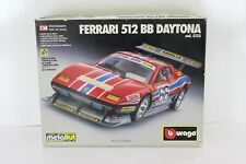 BBURAGO DIE-CAST METAL KIT 1/24 FERRARI 512 BB DAYTONA  COD.5133 BURAGO