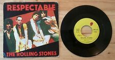 RARE FRENCH SP THE ROLLING STONES RESPECTABLE