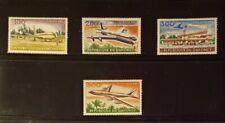 Dahomey (Benin) Stamps-#C20-C23- Various Scenes with Boeing 707 - MNH XF - 1963