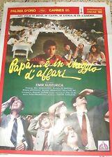 Papà ..è in Viaggio d' Affari (Yug. 1985) VHS CGD  1a ed.  Emir Kusturica