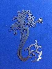 Mermaid X Metal Wall Art Skilwerx 14 X 9 Nautical