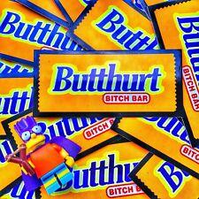 Butthurt Candy Bar Morale Sticker
