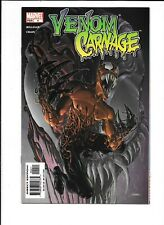 Venom vs. Carnage #4 Clayton Crain Art 1st Toxin Cover High Grade Copy!