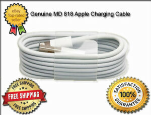2 x Genuine Official Apple iPad Mini Series Lightning USB Charger Sync Cables